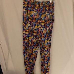 Rare Nickelodeon 90s pajama pants rugrats L